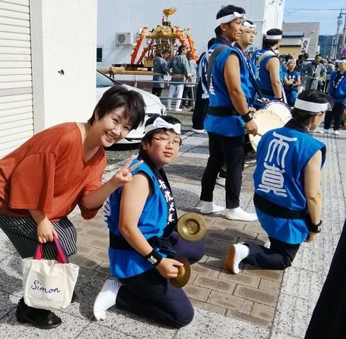 20180915北見神社秋季例大祭小さな先輩君.jpg